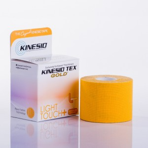 Taśma Kinesio Tex Gold LIGHT TOUCH + Kinesiotaping